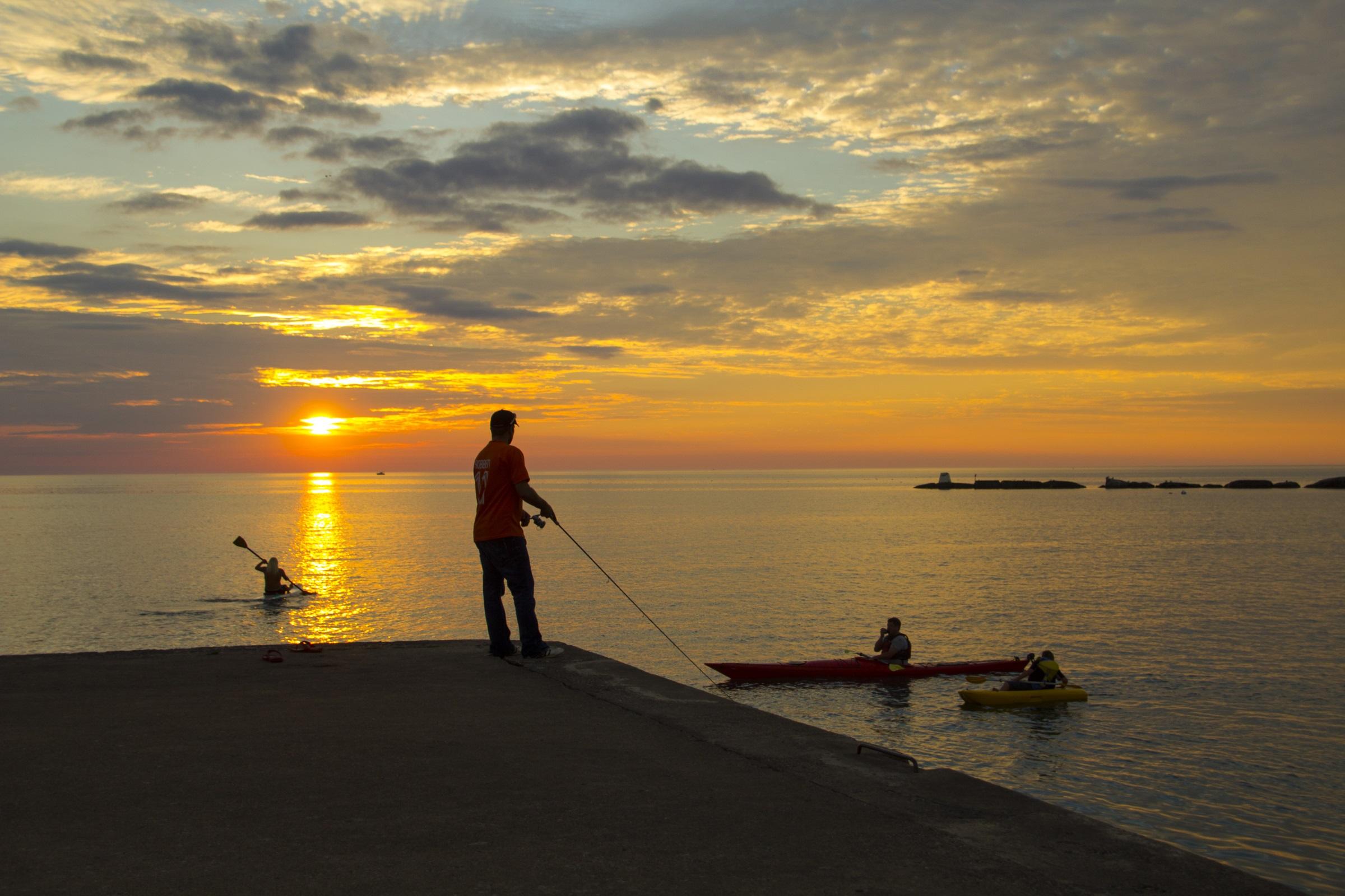 Summer Sunset (image resized)